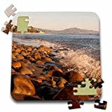 Danita Delimont - Beaches - California, Santa Barbara, Montecito Butterfly Beach - US05 AJN0047 - Alison Jones - 10x10 Inch Puzzle (pzl_88137_2)