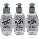 FX Straight And Shine Extra Strength Anti-Frizz Hair Serum (Set Of 3)