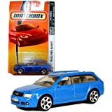 Matchbox Year 2007 Mbx Vip Luxury Series 1:64 Scale Die Cast Metal Car # 36 Light Blue Station Wagon Audi Rs6...