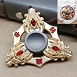 """MSE """"OFFER"""" Storage Box (Any1 Box) Free With Fidget Spinner Worth Of Worth Of 799* Stress Reducer Toy , Game For Finger Spinner Game Hand Spinner Game Toy Links Upgraded Edition Star Shield High Speed Finger Spinner Game,"""
