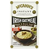 2 Pack: McCANN'S Instant Irish Oatmeal, Maple & Brown Sugar, 10-count Boxes