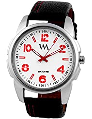 Watch Me Set Of Swiss Branded Black Brown White Red Multicolor Dial Leather Analogue Analog Watches For Men,Boys... - B01L01PLBA
