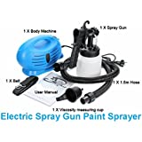 Kihika 220V 4 In 1 Portable Paint Spray Gun Paint Zoom Paint Sprayer For Coating With Free Gift Keychain