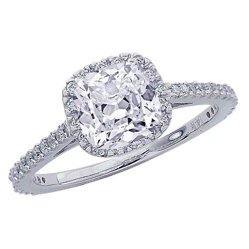 Chandni jewels cushion cut halo best amazon customer reviews