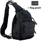 BX Warehouse Outdoor Tactical Shoulder Backpack, Military & Sport Bag Pack Daypack For Camping, Hiking, Trekking...