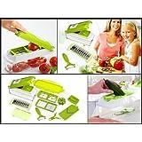 MagnusDeal® Nicer Dicer Plus Multi Chopper Vegetable Cutter Fruit Slicer