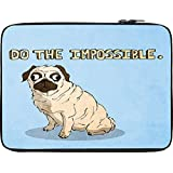 Snoogg Do The Impossible Cute 12 To 12.6 Inch Laptop Netbook Notebook Slipcase Sleeve