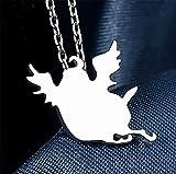Vicwin-one Tamako Market Mochimazzui Necklace 925 Sterling Silver Cosplay
