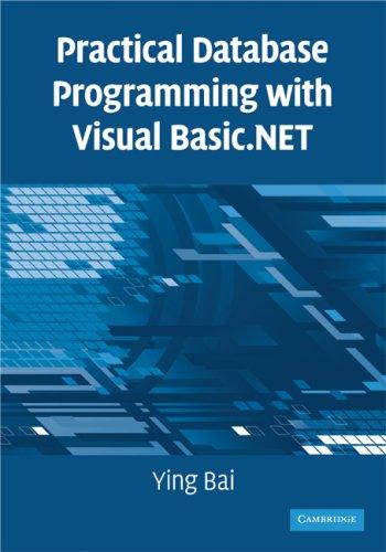 Visual Basic Programming Book