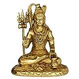 Redbag Lord Shiva Blessing Brass Statue (26.04 Cm, 22.23 Cm, 13.34cm)