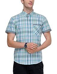 Yepme Men's Checks Cotton Shirt - YPMSHRT0363