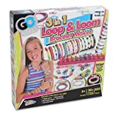 Adonegifts Rubber Band Bracelet Maker Kit Set For Kids / Girls With Glow In The Dark, Glitter, And Color Jewelry...