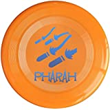 WG Brand Orange, One Size : WG Unisex OW Pharah OverPharah Watch Video Game Character Logo Outdoor Game Frisbee Ultra Star Yellow