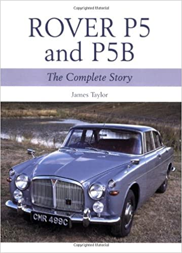 Book Review: Rover P5 & P5B: The Complete Story