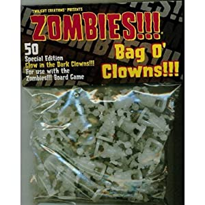 Click to buy Bag O Zombies!!! Clowns Glow in the Dark from Amazon!