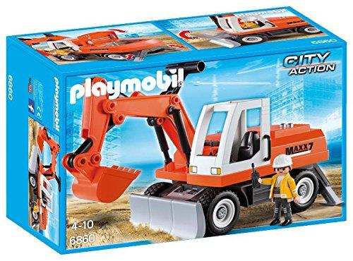 Pubblicità di Cartoonito e Rai YoYo: Playmobil 6860 - Escavatore Meccanico al miglior prezzo web Italia