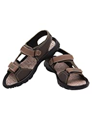 FBT Men's 1627 Green Casual Sandals