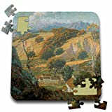 BLN American West Fine Art Collection - California Valley Farm by Maurice Braun - 10x10 Inch Puzzle (pzl_126679_2)