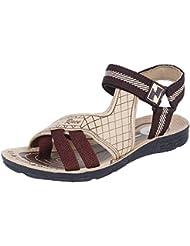 Earton Men's Grey-910 Sandals & Floaters