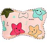 WonderKart Star Print Feeding & Nursing Baby Neck Pillow - Pink