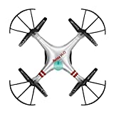 Hosim Aviax H2O waterproof Drone Headless Mode 2.4GHz 6Axis Gyro Quadcopter RC Explorers LED flashing lights support DIY(siliver)