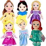 "Bargains Galore 12"" Official Disney Princess Soft Plush Cuddly Toy Gift Set Girls Fun Cute Kids (Sleeping Beauty)"