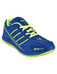 Acto Stylish Blue And Green Sports Shoes For Men