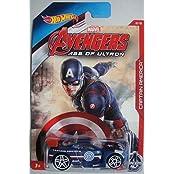 Hot Wheels Marvel Avengers Age Of Ultron Captain America Power Rage 2/8