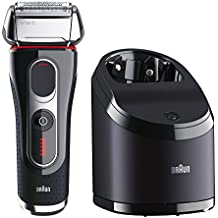 Braun Series 5 5090cc Electric Foil Shaver For Men With Clean & Charge Station, Electric Men's Shaver, Razors,...