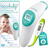 Clinical Non-Contact Baby Forehead Thermometer NEW 2017 EDITION With Bonus Fast Flexible Tip Waterproof Digital...