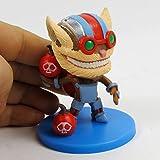 League of Legends LOL Heros Ziggs Heimerdinger Kennen Poopy Tristana Veigar Action Figure Model Toys