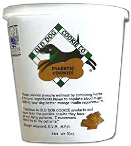 Amazon.com : All Natural Diabetic Dog Treats, 10 oz- Vet