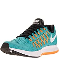 Nike Women S Air Zoom Pegasus 32 Running Shoe Gmm Bl/White/Lsr Orng/Vvd Orng 10 B(M) US