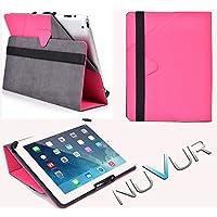 """Flip Stand 2 In 1 Cover Case Apple I Pad Air """"Hot Pink """" Nu Vur """"Mu10 Egm1"""""""
