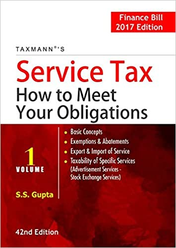 Service Tax How to Meet your Obligations
