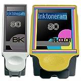 1 Pack Of 2 New Remanufactured 30 KODAK 30 Ink Cartridges For Kodak 30 Black Kodak 30 Color Combo Set