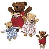 North American Bear Company Nesting Puppets Bears/Goldilocks