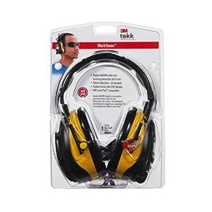 3M 90541-80025T TEKK WorkTunes Hearing Protector and AM/FM Radio
