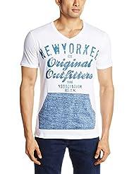 WYM Mens Round Neck Cotton T-Shirt