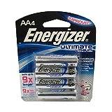 Energizer Ultimate Lithium Batteries AAA (Per 4)