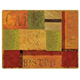 Conimar 11-1/2-Inch By 15-Inch Flexible Cutting Mats, Bistro Design 75208, Set Of 2