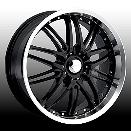 Platinum Apex 15 Black Wheel / Rim 4×100 & 4×4.25 with a 40mm Offset and a 73 Hub Bore. Partnumber 200-5701B