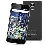 "Cubot P12 - 5.0"" Smartphone Libre Android 3G (HD 1280x720P, Quad Core, 1G Ram, Dual Sim, 16G, 8Mp, HotKnot Otg Air Gesture Smart Wake Multi-Idioma), Negro"