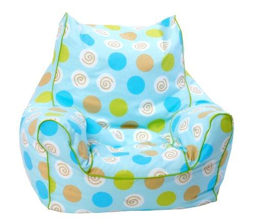 knorr-baby 450101 - Mini Sitzsack, blau