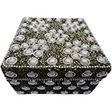 Decorative Jewellery Box Indian Gift Home Decor Handmade Lac Beaded Table Top Antique Box Vintage Style Accessories...