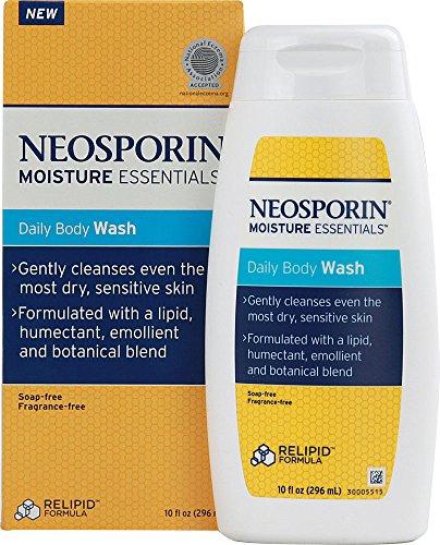 Neosporin Moisture Essentials Daily Body Wash -- 10 fl oz