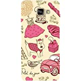 Casotec Paris Pattern Patterns & Ethnic Design Hard Back Case Cover For Samsung Galaxy A5 (2016)