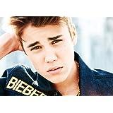 CVANU Justin Bieber Matte Poster,12x18 Inches Matte Print [HD Print,Small Size,Rolled Poster]