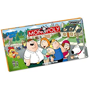 Click to buy Family Guy games: Monopoly USA-opoly from Amazon!