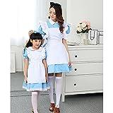 Amur Leopard Kids Halloween Party Costume Dress Little Maid Lolita